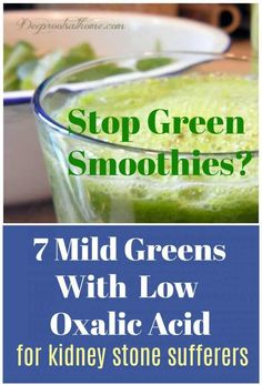 7 Mild Greens With Low Oxalic Acid Related posts: 12 Leafy Greens: A Quick Guide Green shakes have many health benefits. They usually include greens such as spin… David Tamarkin's Baked Feta with Chickpeas and Greens Baby Food Recipes, Whole Food Recipes, Healthy Recipes, Healthy Food, Healthy Tips, Diet Recipes, Recipies, Oxalic Acid, Kidney Friendly Foods