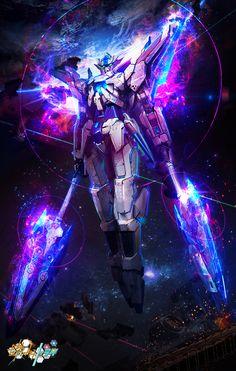 "Gundam Fan Art by The DURRRRIAN ""Demo pieces i did at this years Animangaki in Sunway. Arte Gundam, Gundam 00, Gundam Wing, Gundam Wallpapers, Animes Wallpapers, Foto Batman, Espada Anime, Gundam Build Fighters Try, Gundam Toys"