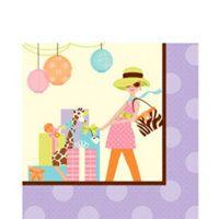 great napkins Baby Shower Giraffe, Baby Shower Purple, Purple Baby Shower Decorations, Napkins, Kids Rugs, Toys, Modern, Animals, Home Decor