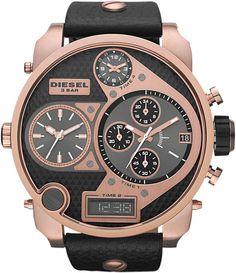 Farb-und Stilberatung mit www.farben-reich.com - Diesel Mr. Daddy Four-in-One Watch, Rose/Black