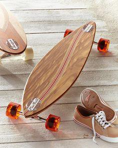Wave Pin Tail Longboard
