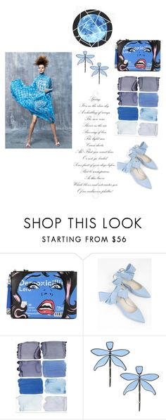 """Untitled #7"" by dominika-latus on Polyvore featuring Moschino, Delpozo and Tory Burch"