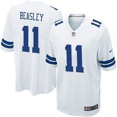 Nike Limited Cole Beasley White Youth Jersey - Dallas Cowboys #11 NFL Road