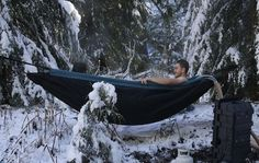 Hydro Hammock: Portable Hot Tub for Camping and the Great Outdoors