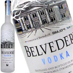 This is hot list of top 10 vodka brands, and this pic is of Belvedere Vodka