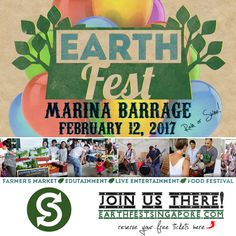 www.secondsguru.com| Meet Michael Broadhead, the man who is organizing the second edition of EarthFest on Feb 12th 2017 in Singapore- a sustainable, fun, and inspirational festival for all ages.