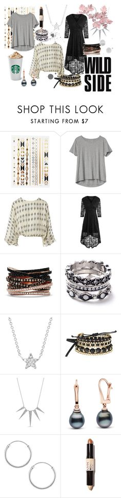 """Wild side"" by loeitt on Polyvore featuring Gap, Lanvin, Effy Jewelry, WithChic, EF Collection, Avon, Sevil Designs and NYX"