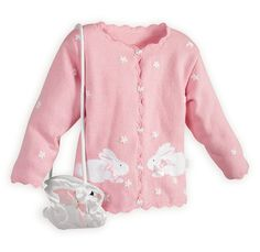 9bb6b6056c9 Girls Easter Clothes   Outfits - Cottontail Easter Sweater