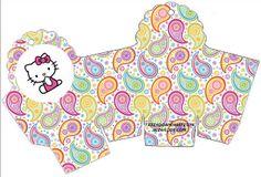 Cajitas imprimibles de Hello Kitty 2. - Ideas y material gratis para fiestas y celebraciones Oh My Fiesta! Hello Kitty boxes Free Printables