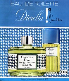 Christian Dior 'Diorella', 1973. So long since I tried this, I need to re-visit.
