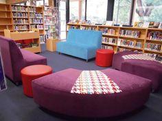 Bright colour couches