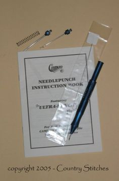 Cameo Ultra Punch Needle Tool Kit with 3 Needle Tips