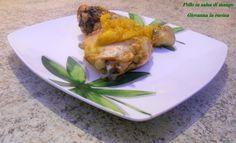 Pollo in salsa di mango