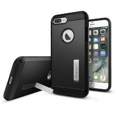 Spigen Tough Armor, Back Cover Mobile Case, for iPhone 7 Plus, Black