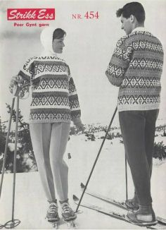 Dombås 454 Vintage Ski, Vintage Winter, I Hate Pants, Stirrup Pants, Norwegian Knitting, Ski Fashion, Ski Pants, Fair Isle Knitting, Vintage Knitting
