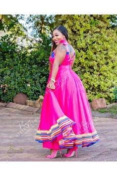 Products – Page 4 – Styles By Tumi Xhosa Attire, African Attire, African Dress, Sepedi Traditional Dresses, African Traditional Wedding, African Fashion Skirts, Fashion Dresses, Curvy Women Outfits, Clothes For Women
