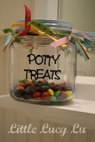DIY  Potty Treats. I'm desperate to try anything