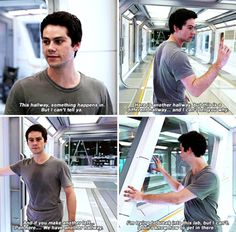 The Death Cure bts - Dylan O'Brien