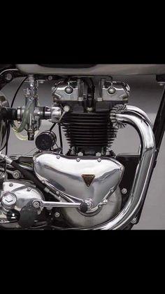 Overbold Motor Co. Triumph Scrambler, Triumph Motorcycles, Triumph Bonneville, Motorcycle Engine, Motorcycle Style, Tracker Motorcycle, Classic Motorcycle, British Motorcycles, Vintage Motorcycles