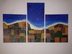 Triptychon 'OBEN' | KunstiX