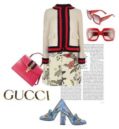"""Gucci"" by sunnyjuke ❤ liked on Polyvore featuring Gucci"