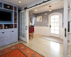 French Doors Between Den And Living Room Design, Pictures, Remodel, Decor and Ideas - page 6