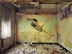 Dave Jordano, 2007, Room Detail #2, Chanute AFB, Rantoul, IL