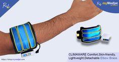 CLIMAWARE Comfort,Skin-friendly,Lightweight,Detachable Elbow Brace.  #myWedjat #Pain_Management #ElbowBrace_CLIMAWARE