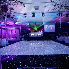 "8 PCS Wholesale Groovy Wedding Party LED Dance Floor - 24""wide x 24""long"