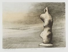 Henry Moore OM, CH 'Standing Figure Storm Sky', 1978 © The Henry Moore Foundation, All Rights Reserved, DACS 2014