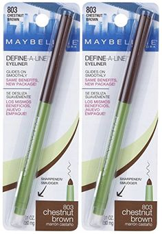 Maybelline DefineALine Eyeliner  Chestnut Brown  2 Pack >>> Find out more about the great product at the image link. (Note:Amazon affiliate link)
