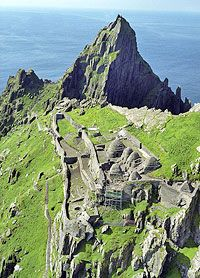 Skellig Michael, monastic site. (But only open mid-May to October.)