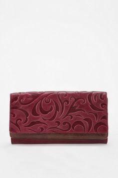 Hobo Nia Embossed Checkbook Wallet 128.00 #UrbanOutfitters