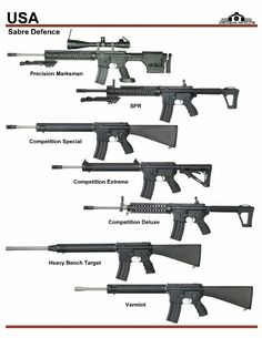США: Sabre Defence SPR, Competition Rifles