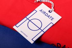Marta Veludo developed and designed the identity for Airdate, the new private label from Men at Work.