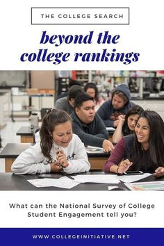 When searching for the right college, looking at college student engagement on their campuses might help hs students decide if the college is a good fit.    #Highschool #collegesearch #collegeadmissions