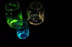 These DIY glow jars are awesome and so easy to make! Learn how to make them here!