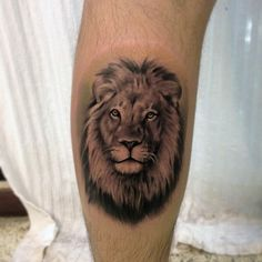 Lion tattoo by Jose Contreras #Tattoo #NoRegrets #Lion