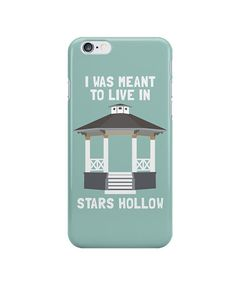 Stars Hollow Phone Case | Before you return to Stars Hollow on November 25, stock up on these shirts, prints, mugs, and more—all made for Gilmore Girls devotees. Oy with the merch already!