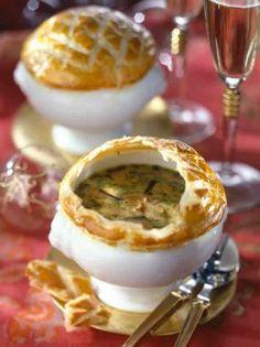 Zuppa di funghi in crosta  #fingerfood #shopfesta #louçasfingerfood