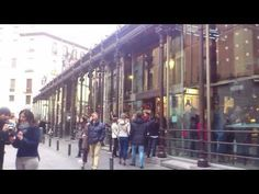 Central Market in Madrid - YouTube