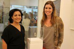 Rosana Ricalde e a designer Alessandra Schiper