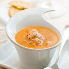 crockpot, lobster bisque, soup, crockpot soup, appetizer, easy