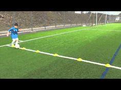 Technik - Ballführung/ -kontrolle - 6er Reihe - Übung 1-5 Justfootball A...