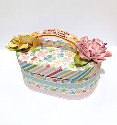 Trendy Retos - Mayo - Requisitos: inspiración foto, botón, frase a mano - Maleta floral -  Colección Eres Alegría de Abbondanza Fiesta.