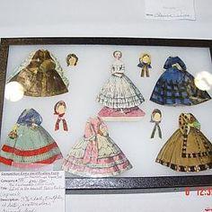 Бумажные куклы для вырезания - от старинных до современных - Форум-Град