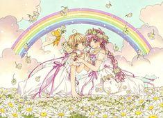 Manga Anime, Anime Art, Magic Knight Rayearth, Clear Card, Cardcaptor Sakura, Magical Girl, Character Design, Fan Art, Drawings