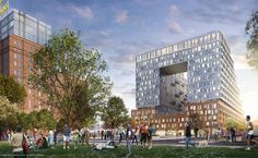 Williamsburg, Brooklyn will renovate the historic Domino Sugar factory into a modern residential tower.