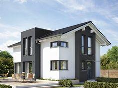 modernes wohnhaus 150 qm wohnfl che 2 geschossig 30 grad dachneigung hausbeispiele von cal. Black Bedroom Furniture Sets. Home Design Ideas