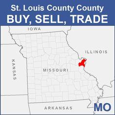 St. Louis County Buy, Sell, Trade - MO Kansas Missouri, Stuff For Free, Franklin County, Arkansas, Iowa, Did You Know, Illinois, St Louis